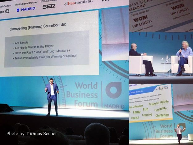 An EMBA student's impressions from the World Business Forum, Madrid