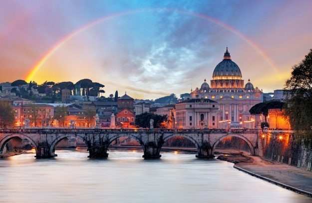 How to start 2018? A Roman art and street-food weekend