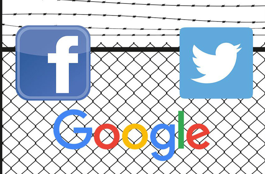 Facebook, Twitter and Google ban ads