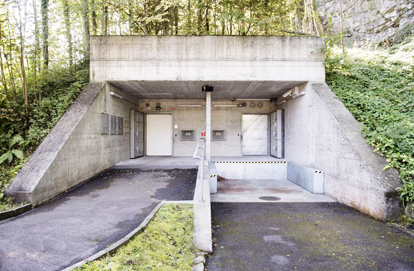 Xapo bunker in Switzerland